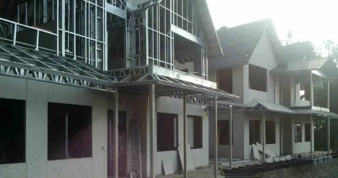 Asian Prefab Construction Company Prefabricated Farm House And Villa
